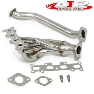 Stainless Steel 4 1 Exhaust Header Manifold For 1999 2000 Mazda Miata Mx 5 1 8l