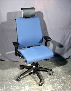 Qty 1 200 We Ship Steelcase Think Chairs W Headrest lumbar swivel Armrest