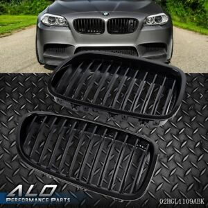 Black Front Hood Kidney Grille Grill For Bmw F10 F18 5 Series 2010 2013