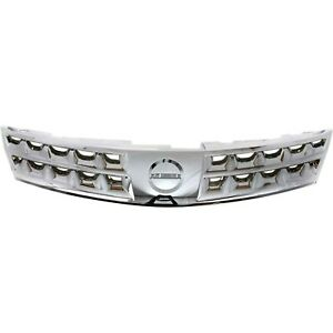 Front Chrome Grill Grille Assembly For Nissan Murano Suv Truck New