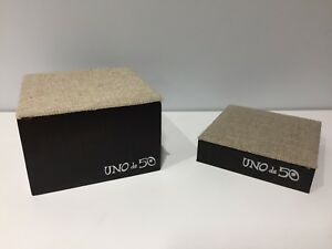 Set Of 2x Uno De 50 Base Display Exposant Display Support For Jewels Jewelry