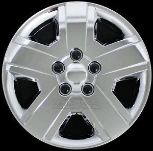 16 Set Of 4 Chrome Wheel Covers Snap On Full Hub Caps Fit R16 Tire
