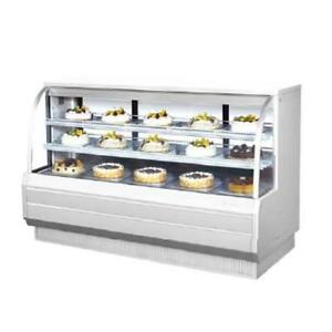 Turbo Air Tcgb 72 dr 72 In Non refrigerated Bakery Case