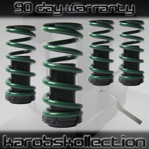 Jdm Suspension Lowering Coil Over Springs scale Green Black For Honda acura