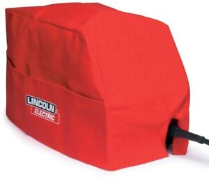 Lincon Electric Small Canvas Welder Cover Water Repellent Flame Mildew Resistant
