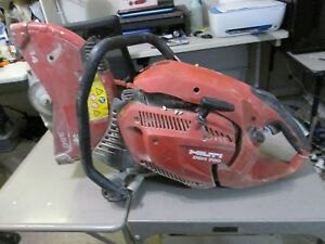 Hilti Dhs 700 Handheld Concrete Cut off Saw Gas Powered For Parts Or Repair