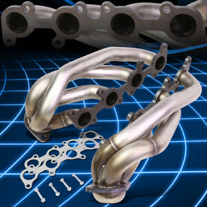 For 11 14 Ford F150 5 0l V8 Stainless Racing Shorty Exhaust Manifold Headers
