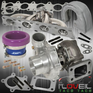 1 8t Audi Exhaust Manifold Turbo Oil Cool Velocity Air Stack Heat Cover Purple
