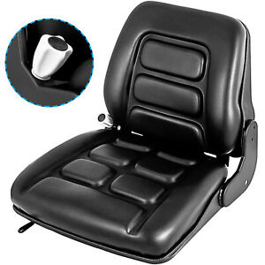 Universal Vinyl Forklift Suspension Seat Fit Clark Hyster Toyota Yale Sale Stock