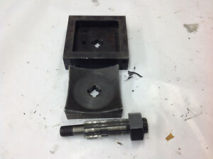 Greenlee 5018567 5018566 4 1 8 Square Knockout Punch Die Drawstud