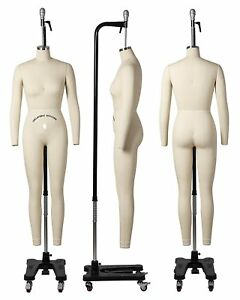 Professional Female Full Body Mannequin Dress Form W arms Size 10 wfcs 10 2