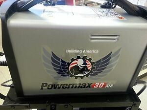 Hypertherm 088096 Powermax 30 Air Plasma Cutter W Air Compressor New