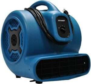 Air Mover Blower Fan 3 4 Hp 3speed Powerful Energy Efficient Compact Lightweight