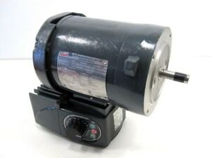 Browning Tefc Inverter Duty C face 5hp Electric Motor 460v W Speed Control New