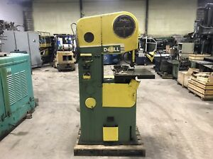 Doall 16 Vertical Band Saw Miter Gauge