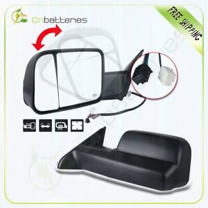 Power Heated Towing For 2009 2015 Dodge Ram Truck Side View Mirrors Tow Pair