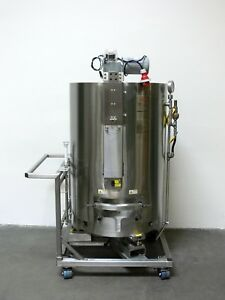 Thermo Scientific Hyclone 500 Liter Stainless Steel Single use Bag Reactor