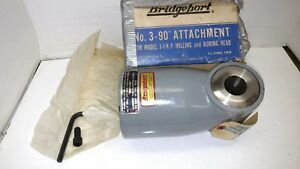 Bridgeport 3 Right Angle Head Brand New