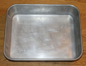 Wear ever 4482 16 X 20 Aluminum Strapped Roaster Pan Vollrath