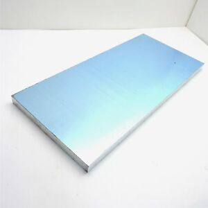 1 Thick Precision Cast Aluminum Plate 10 25 X 24 375 Long Sku 151148