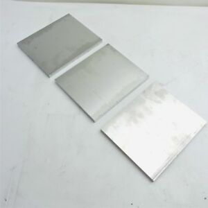 5 Thick 1 2 Aluminum 6061 Plate 6 X 7 75 Long Qty 3 Sku 159154