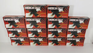 700 Round Reloaders Storage 14 Empty 9mm Ammo Boxes Trays American Eagle