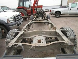 2005 2007 Ford Super Duty F250 F350 Crew Cab Long Box Bed Rolling Chassis Frame