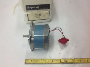 Superior Slo syn Ss241 Synchronous Motor 120vac 1 ph 0 4amp New In Box
