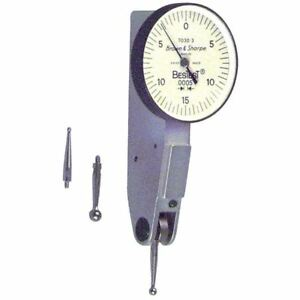 Brown Sharpe Bestest Dial Test Indicator 599 7023 3 Read 0 4 0 0 0001 Inch