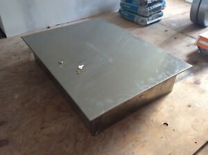 Stainless Locking Electrical Cabinet