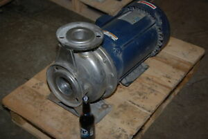 Ebara 10hp A3ub 65 160100t3c Stainless End Suction Centrifugal Pump Inv 26686