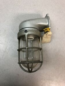 New Old Stock Appleton Form 100 Explosionproof Light Fixture Cage