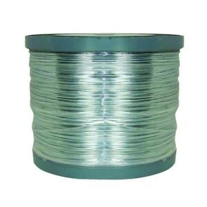 Galvanized Steel Wire Horse Fencing Livestock Agriculture 1 2 Mile Roll 14 gauge