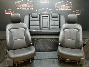 2009 Lincoln Mkz Front Rear Black Leather Bucket Seats Trim Code Mw