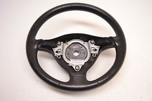 Mk4 Vw Jetta Gli Gti 20th Perforated Leather Steering Wheel Black Oem 1999 2005