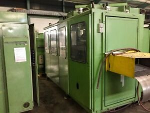 1994 Illig Rdkp72d 4 Stations Thermoforming Machine