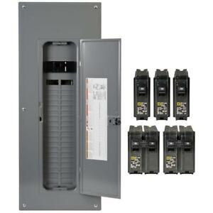Main Breaker Plug on Load Center Neutral Indoor 200 Amp 40 space 80 circuit