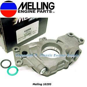 Melling 10295 High Pressure Oil Pump For Gm 4 8l 5 3l 5 7l Ls Engines Ls1 Ls6