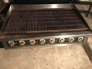 Star Star max 48 Gas Radiant Char broiler New Decal Great Shape Model 8148 Rcb