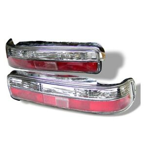 Spyder Auto Acura Integra 90 93 2dr Euro Tail Lights Red Clear Alt yd ai90 rc