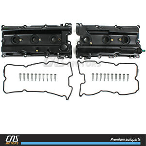 Valve Cover Set For 05 17 Nissan Frontier Pathfinder Xterra Nv1500 2500 4 0l