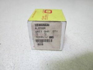 Ohmite Rjs50r 50 Ohm Model J Rheostat new In Box