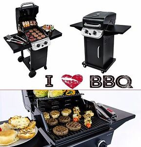 Gas Grill Bbq Two Burner Propane Performance 300 Professional Commercial Cooker