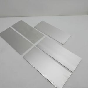 25 Thick 1 4 Aluminum 6061 Plate 5 375 X 14 25 Long Qty 5 Sku 174372