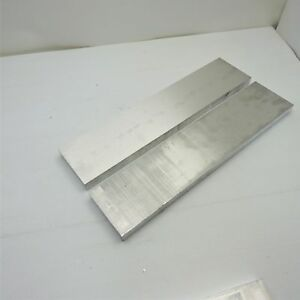 1 Thick Aluminum 6061 Plate 6 X 25 Long Qty 2 Sku 180066