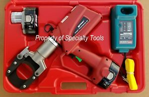 Burndy Patcut245cual 18v Battery Hydraulic Cable Wire Cutter Cutting Tool New