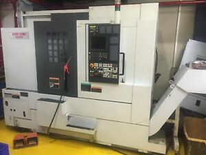 2006 Mori Seiki Nl2000y 500 Cnc Lathe With Live Tooling Y Axis 6 Live Holders