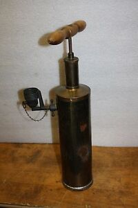Antique 1903 Nebulizer Pump Tank The Bulb Cap Devices For Attaching To Tank