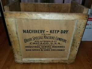 Wooden Crate Box Union Special Machine Industrial Sewing