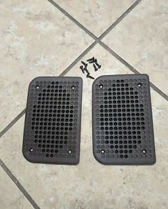 Genuine 80 s Porsche 944 Speakers Doors Grille Cover Brown pair